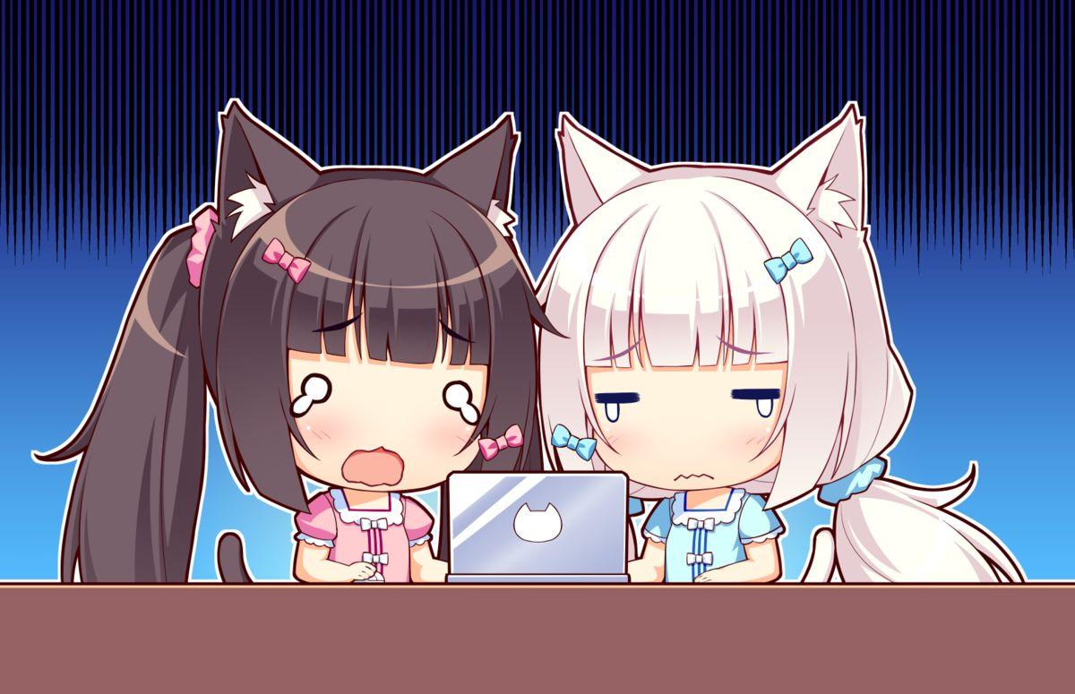 cute anime girls Blank Template - Imgflip