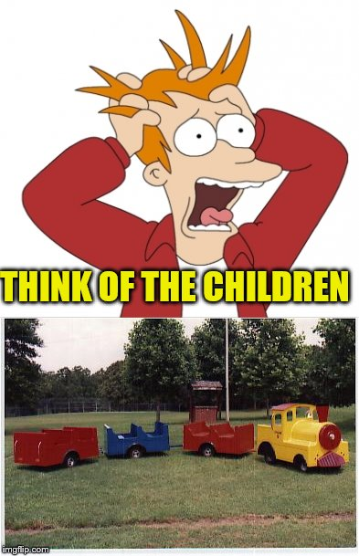 THINK OF THE CHILDREN | made w/ Imgflip meme maker