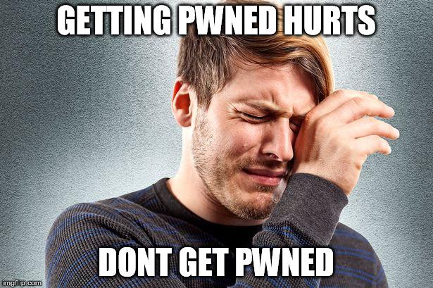 Bildergebnis für you got pwned dude