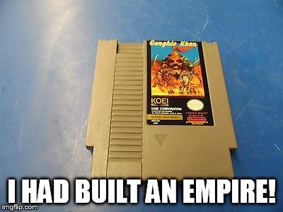 I HAD BUILT AN EMPIRE! | made w/ Imgflip meme maker