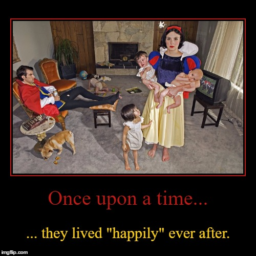"What Really Happens After Fairy Tales End | Once upon a time... | ... they lived ""happily"" ever after. 