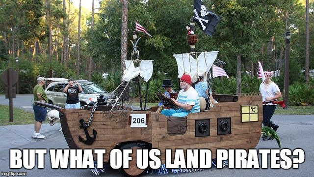 BUT WHAT OF US LAND PIRATES? | made w/ Imgflip meme maker