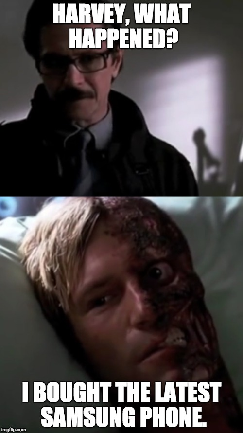 How Harvey Dent Became Two Face Imgflip