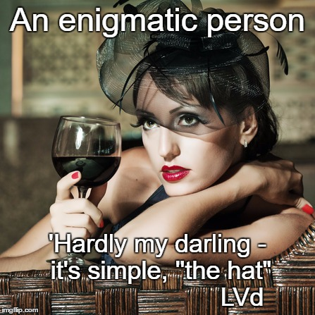 the enigmatic personality