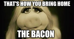 THAT'S HOW YOU BRING HOME THE BACON | made w/ Imgflip meme maker