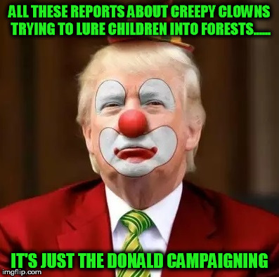 Image result for BOZO THE CLOWN - TRUMP