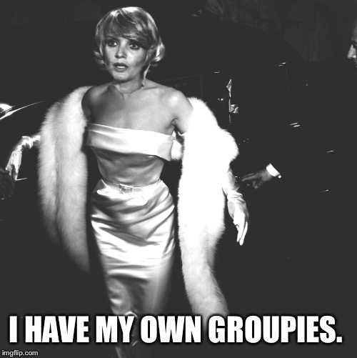 I HAVE MY OWN GROUPIES. | made w/ Imgflip meme maker