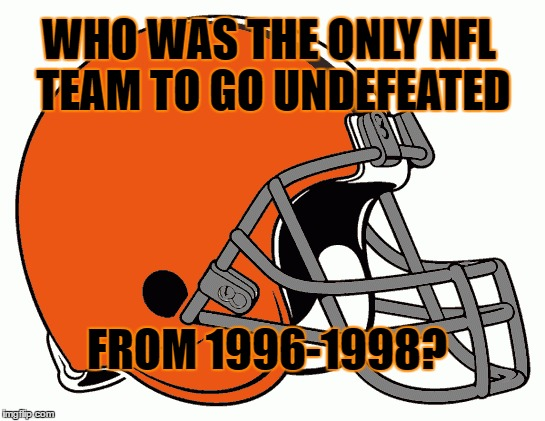 Cleveland Browns 1996