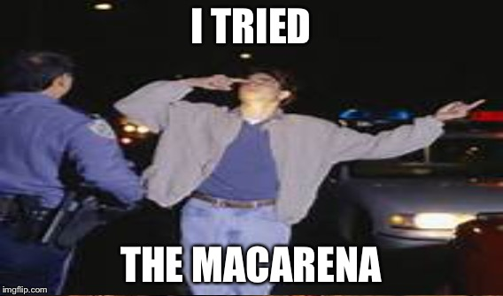 I TRIED THE MACARENA | made w/ Imgflip meme maker
