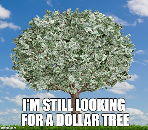 I'M STILL LOOKING FOR A DOLLAR TREE | made w/ Imgflip meme maker