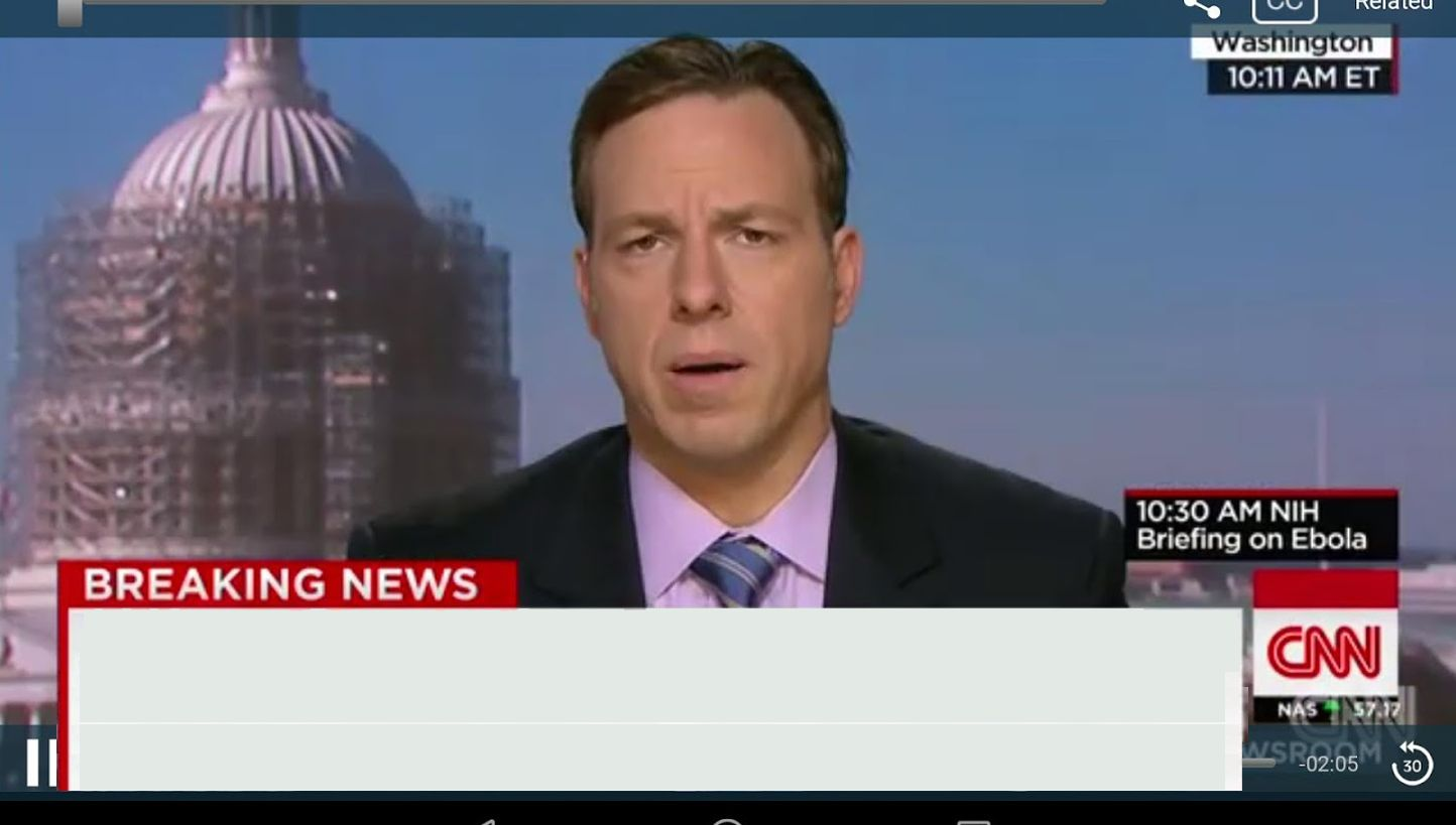 cnn breaking news template Blank Meme Template