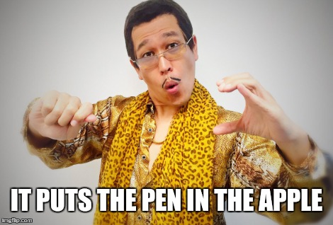 Funny Apple Meme : Apple pen imgflip