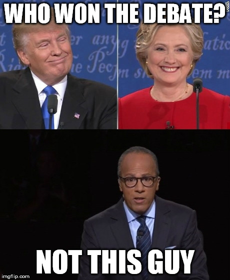 who won the debate - photo #15