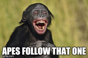 APES FOLLOW THAT ONE | made w/ Imgflip meme maker