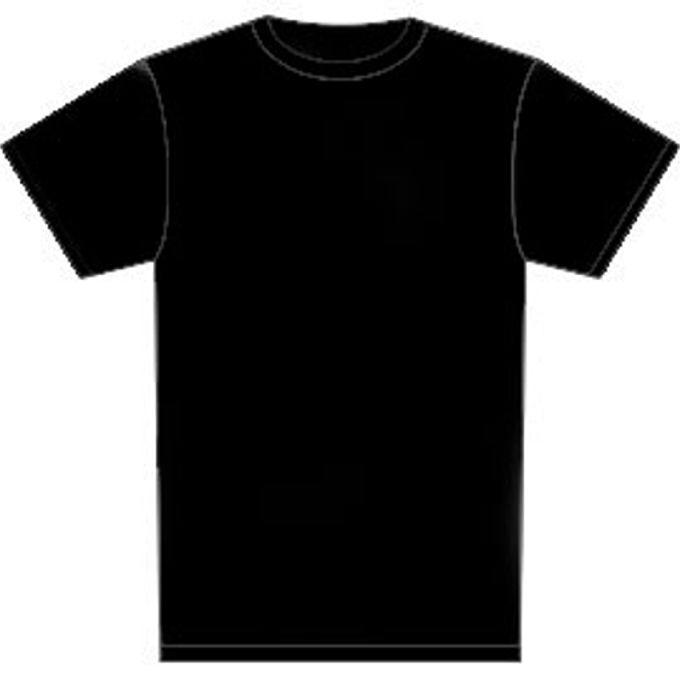 black t shirt blank template imgflip. Black Bedroom Furniture Sets. Home Design Ideas