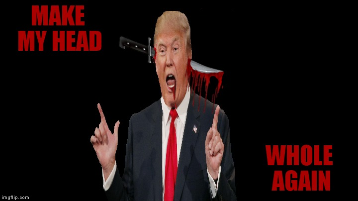 MAKE MY HEAD WHOLE AGAIN | made w/ Imgflip meme maker