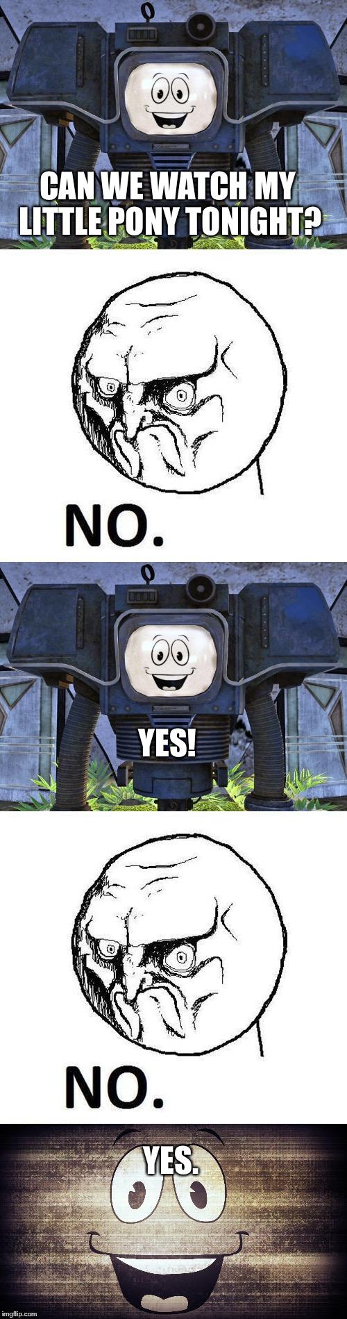No Man vs. Yes Man - Imgflip