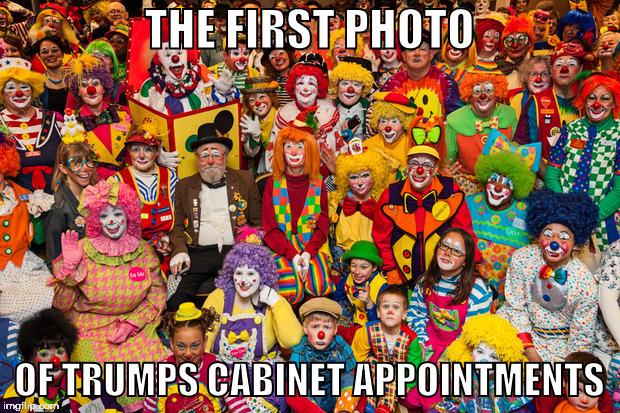 Trump's Cabinet - Imgflip