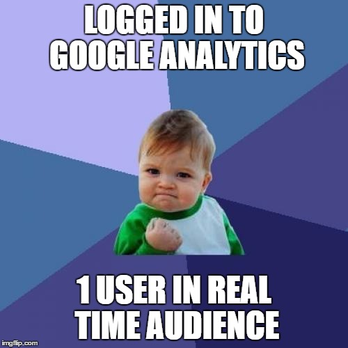 Google Real Time Quotes Api: Success Kid Meme