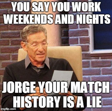 1bju2c maury lie detector meme imgflip,Jorge Meme
