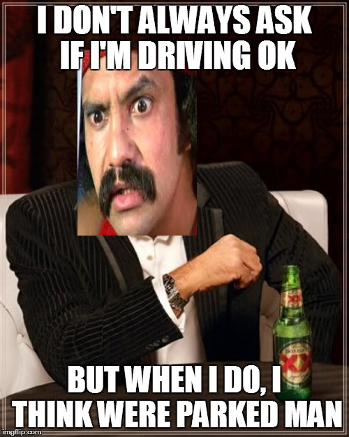 Most interesting stoner in the world | I DON'T ALWAYS ASK IF I'M DRIVING OK BUT WHEN I DO, I THINK WERE PARKED MAN | image tagged in memes,the most interesting man in the world,cheech,cheech and chong | made w/ Imgflip meme maker