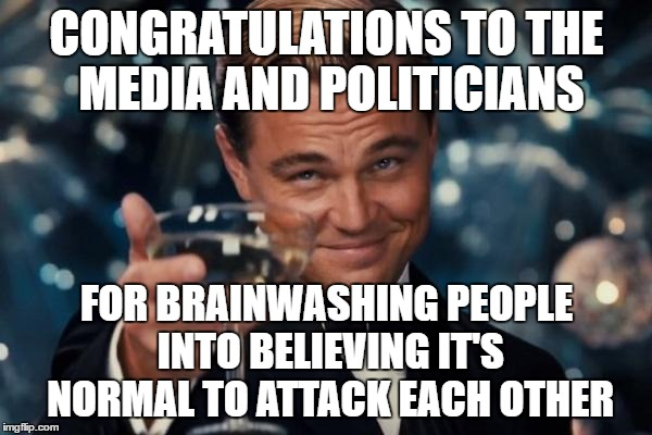 "FISHED IN! That includes ""religious"" and ""anti-religion"" leaders too who instigate hate and enemy-creation 