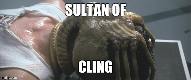 SULTAN OF CLING | made w/ Imgflip meme maker