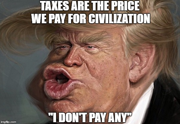 Image result for pax on both houses, trump tax memes