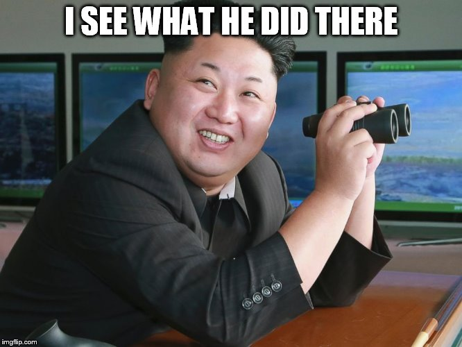 "Kim Jong Un - ""Spying"" 