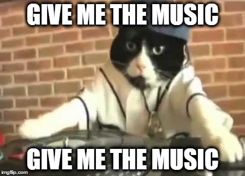 GIVE ME THE MUSIC GIVE ME THE MUSIC | made w/ Imgflip meme maker
