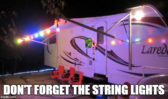 DON'T FORGET THE STRING LIGHTS | made w/ Imgflip meme maker