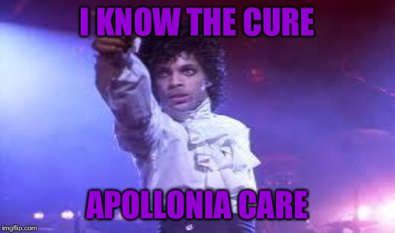 I KNOW THE CURE APOLLONIA CARE | made w/ Imgflip meme maker