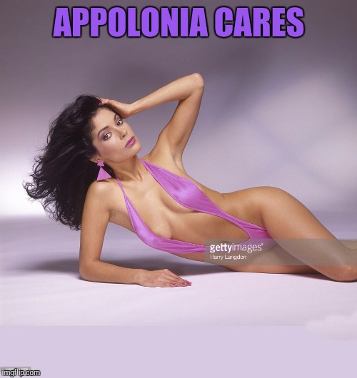 APPOLONIA CARES | made w/ Imgflip meme maker