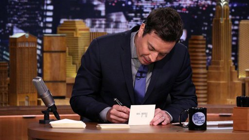 Jimmy Fallon Thank You Notes Blank Template   Imgflip