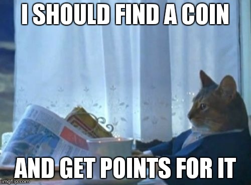 Why are they so popular? | I SHOULD FIND A COIN AND GET POINTS FOR IT | image tagged in memes,i should buy a boat cat,coin | made w/ Imgflip meme maker
