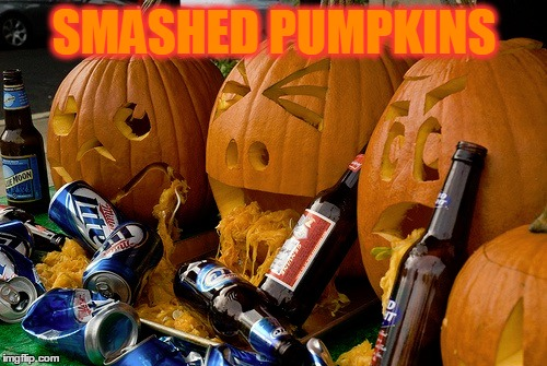 SMASHED PUMPKINS | made w/ Imgflip meme maker