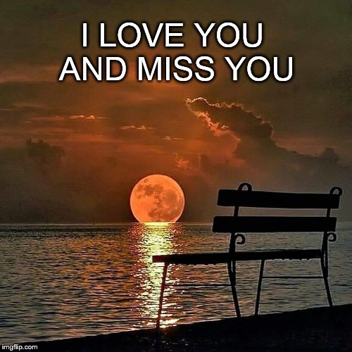Missing that Special Soul | I LOVE YOU AND MISS YOU | image tagged in romantic sunset,miss you,i love you,lonely,relationship memes | made w/ Imgflip meme maker