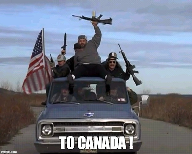 TO CANADA ! | made w/ Imgflip meme maker