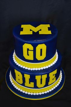 Michigan birthday cake Blank Template - Imgflip