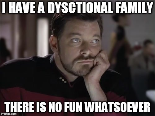 "Taking the ""fun"" out of dysfunctional 