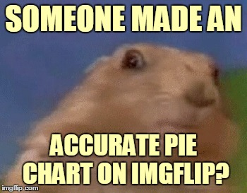 SOMEONE MADE AN ACCURATE PIE CHART ON IMGFLIP? | made w/ Imgflip meme maker