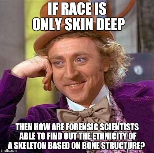 race is only skin deep