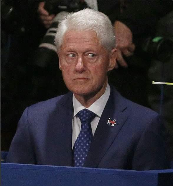 Image result for bill clinton nervous