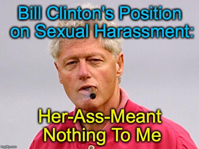 Clinton sexual harassment