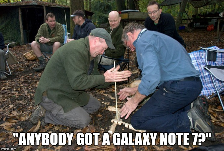 "Campfire | ""ANYBODY GOT A GALAXY NOTE 7?"" 