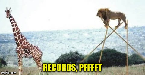 RECORDS, PFFFFT | made w/ Imgflip meme maker