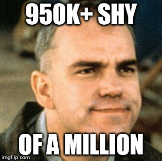 switchblade | 950K+ SHY OF A MILLION | image tagged in switchblade | made w/ Imgflip meme maker