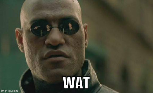 Matrix Morpheus Meme | WAT | image tagged in memes,matrix morpheus | made w/ Imgflip meme maker