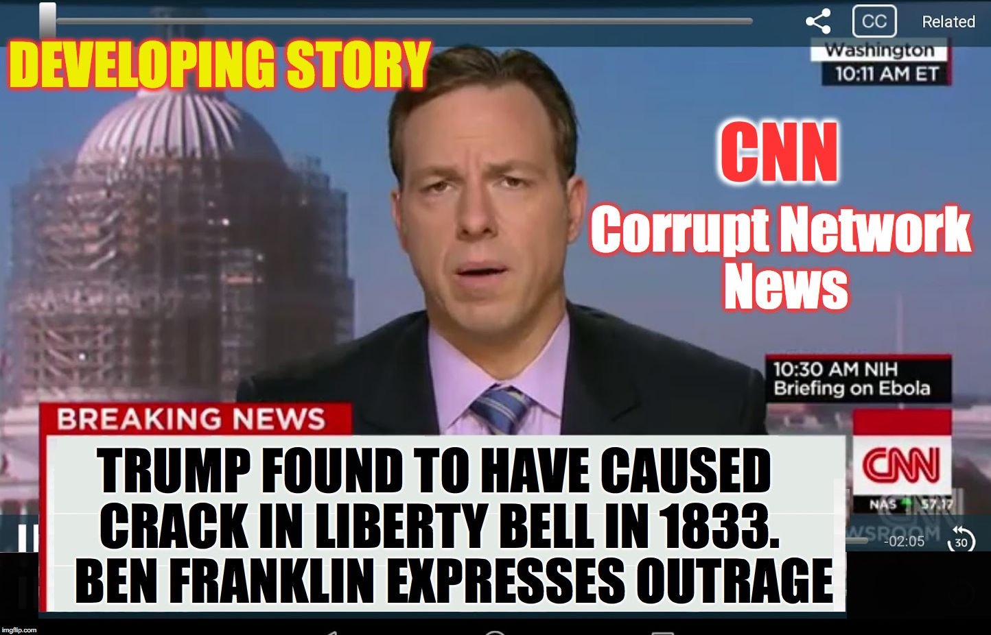 cnn crazy news network - Imgflip - photo#25