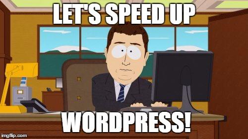 Speed Up WordPress Boost